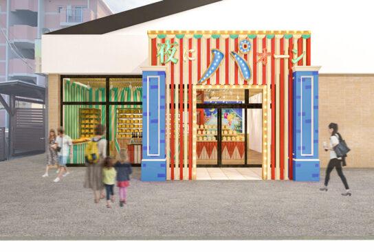 お菓子のミュージアムをイメージ