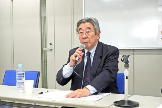 全国スーパーマーケット協会の増井副会長