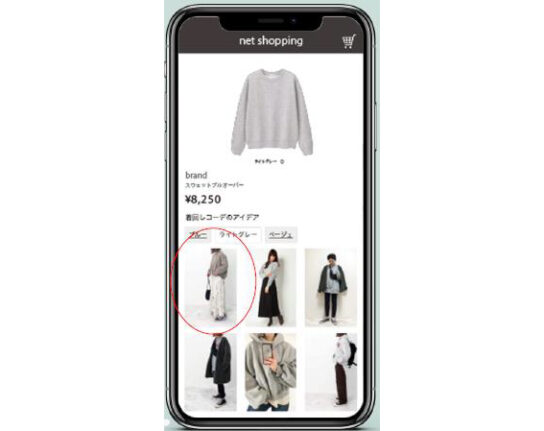 AIが手持ち服とコーデ提案するアプリ