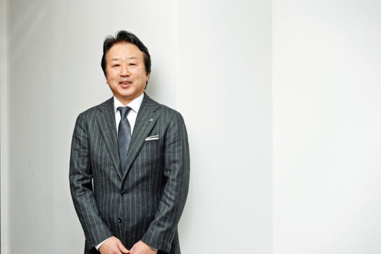 新社長の冨沢氏