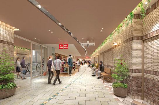 アトレ五反田2 2階館内イメージ