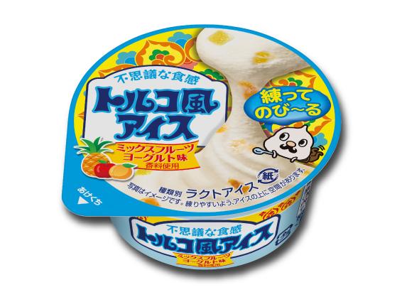 トルコ風アイス ミックスフルーツヨーグルト味