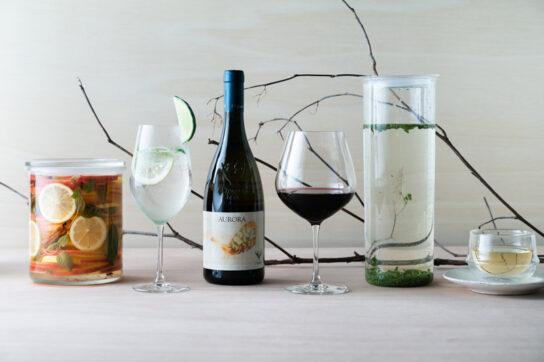 料理に合わせた自然派ワイン