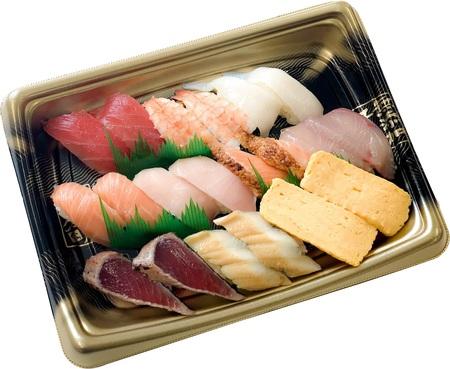 持ち帰り寿司をプレゼント