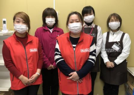 新型ウイルス対策でマスク着用