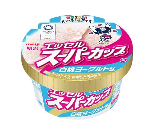 白桃ヨーグルト味