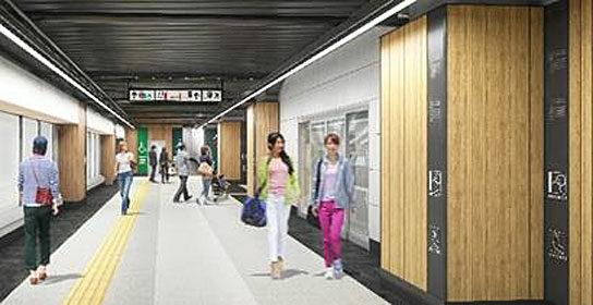 新木場駅の新商業施設