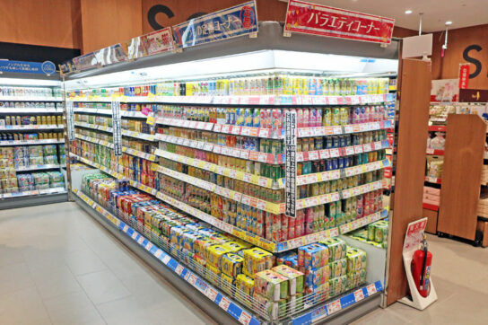 ビール・缶チューハイ売場