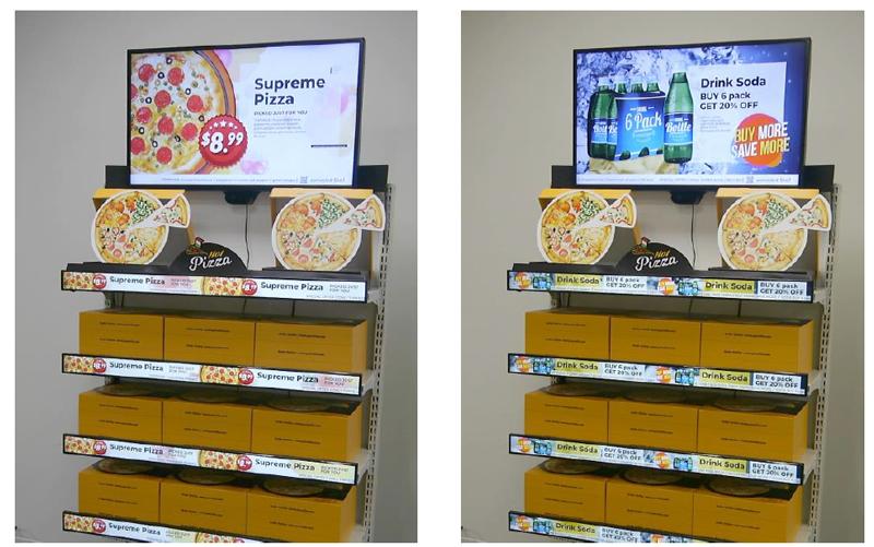 売場の棚で顧客に合わせ「デジタル販促」