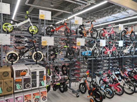 自転車も幅広くラインアップ