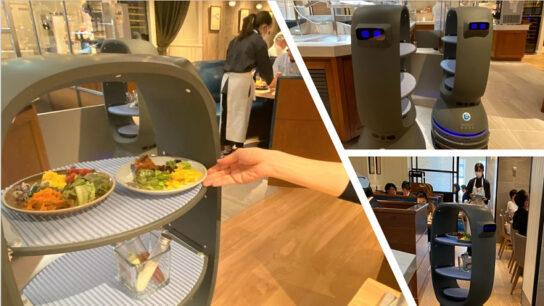 20200706robo1 544x306 - 三笠会館/玉川高島屋S.C.の店舗にロボット活用「非接触」サラダバー