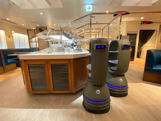 20200706robo5 544x408 - 三笠会館/玉川高島屋S.C.の店舗にロボット活用「非接触」サラダバー
