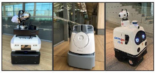 消毒作業ロボット