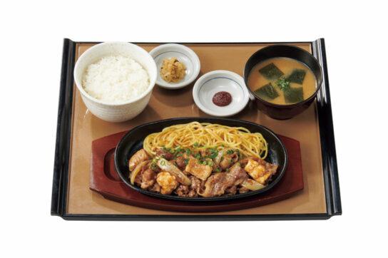 牛カルビ&ホルモン焼定食