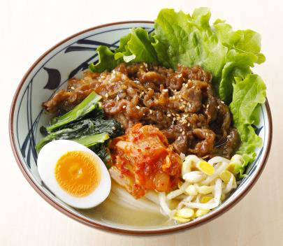 20200708udon1 - 丸亀製麺/夏季限定「牛焼肉冷麺」テールスープ使用