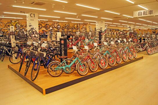 20200716toda 4 544x362 - ロイヤルホームセンター/自社最大330m2の自転車売場「戸田公園」出店
