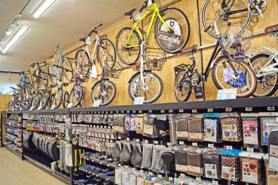 20200716toda 5 544x362 - ロイヤルホームセンター/自社最大330m2の自転車売場「戸田公園」出店