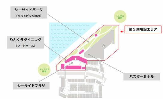 20200729rinku2 544x330 - りんくうアウトレット/第5期増床エリア開業で西日本最大の店舗面積に