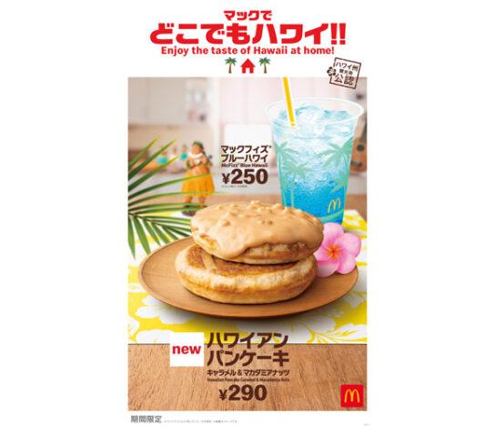 20200731mac2 544x469 - マクドナルド/ハワイ州観光局公認「ハンバーガー&パンケーキ」