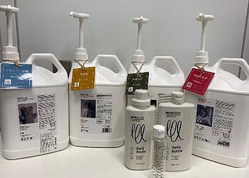 商品タンクと無料容器のイメージ