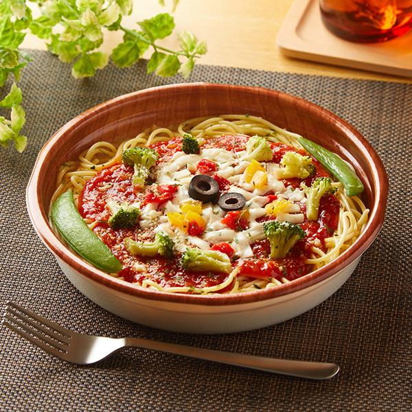 いろいろ野菜のトマトパスタ