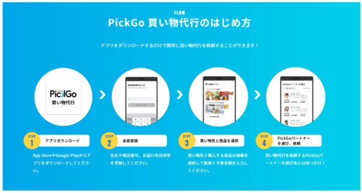 PickGo 買い物代行