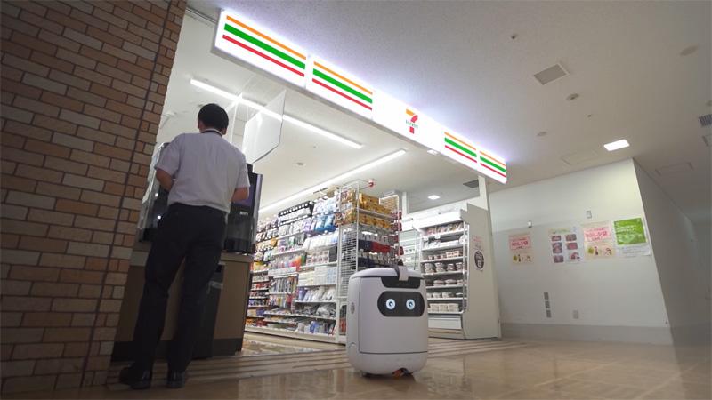 20200909seven1 - セブンイレブン/ソフトバンクG竹芝本社で自動配送サービス実証実験