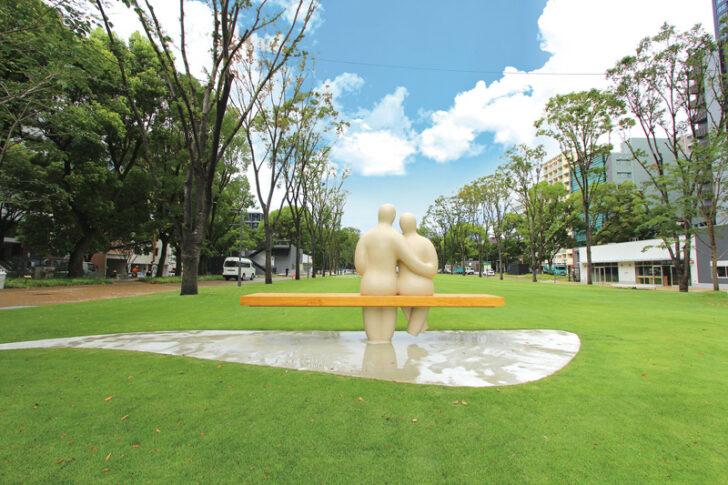 Hisaya-odori Park内 シバフヒロバ