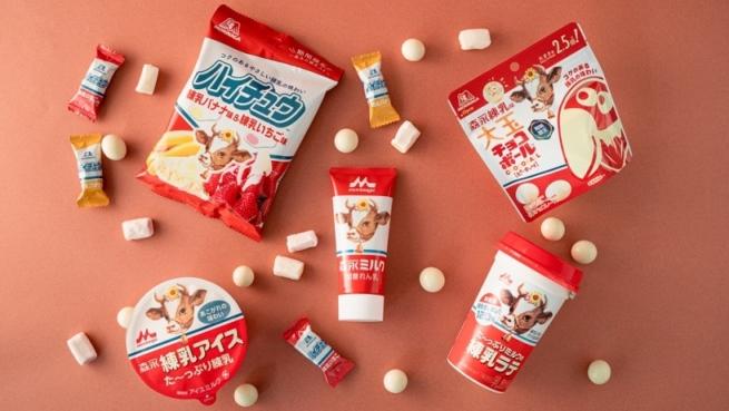 「森永練乳」を使用した4商品