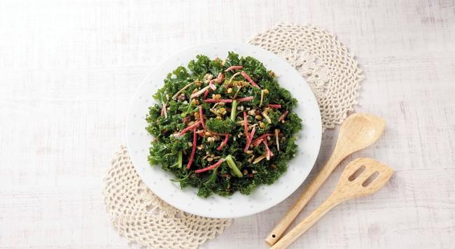 雑穀とケールの10品目サラダ