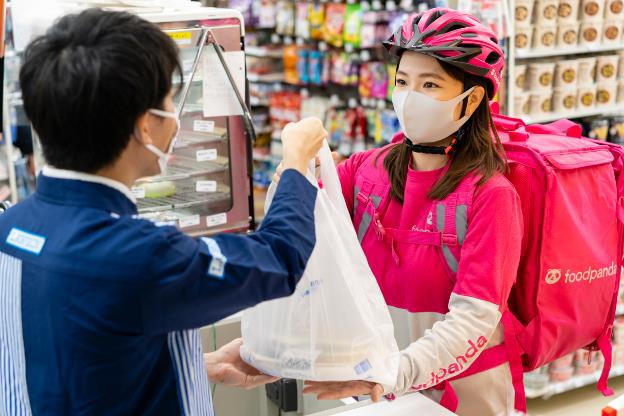 20201113l1 - ローソン/フードデリバリーサービス「フードパンダ」北海道、福岡導入