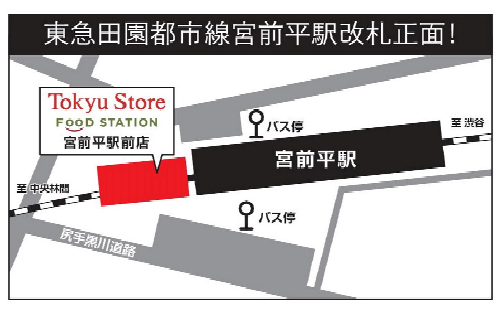 20201117tokyu2 - 東急ストア/川崎市・宮前平駅前に「フードステーション」目標年商5億4000万円
