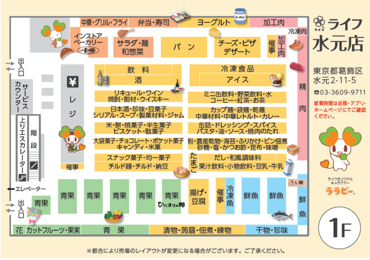 1階配置図