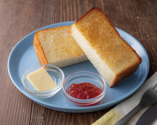 北海道産小麦を使ったもっちり食パンあまおうイチゴジャム
