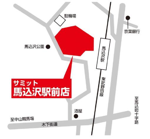 サミットストア馬込沢駅前店