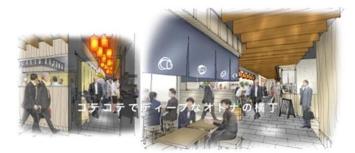 心斎橋ネオン食堂街のイメージ
