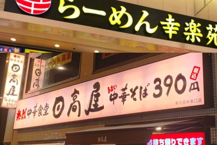 大手ラーメン店