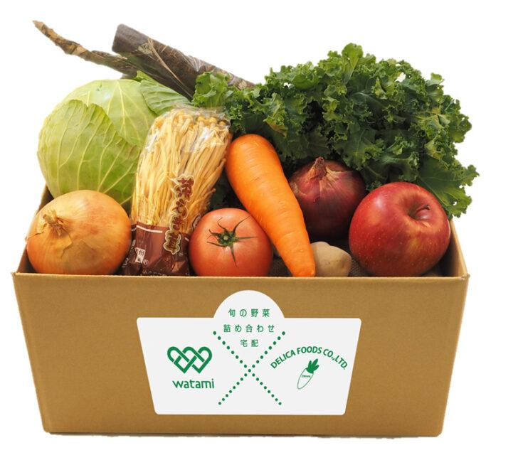 20210118w5 728x640 - ワタミ/弁当・惣菜とともに「野菜BOX」配達開始、利用者拡大目指す