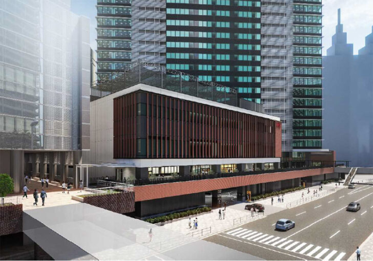 20210122kawasaki1 728x510 - 川崎駅西口開発計画/KAWASAKIDELTA、5月13日に商業棟「JR川崎タワー」開業