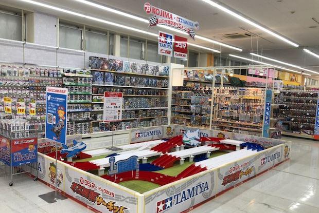 20210129bic2 - コジマ/山口宇部空港店「コジマ×ビックカメラ」に刷新、ミニ四駆を強化