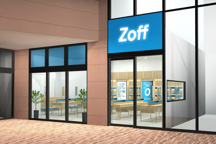 20210205zoff 728x485 - Zoff/「オアシスタウン伊丹鴻池」にコンセプトショップの2号店