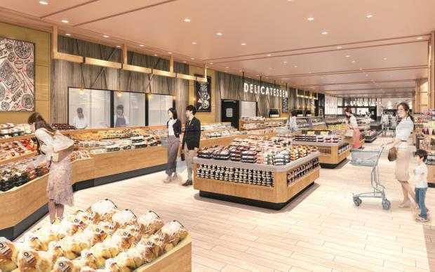 20210209ten1 - 天満屋ストア/「天満屋ハピータウン岡南店」食品売場を改装オープン