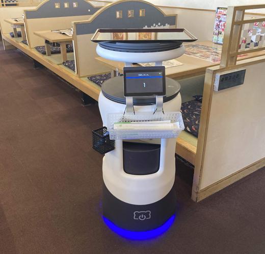 20210217ton2 - 和食処とんでん/配膳・運搬ロボット「Servi」導入でスタッフの負荷軽減