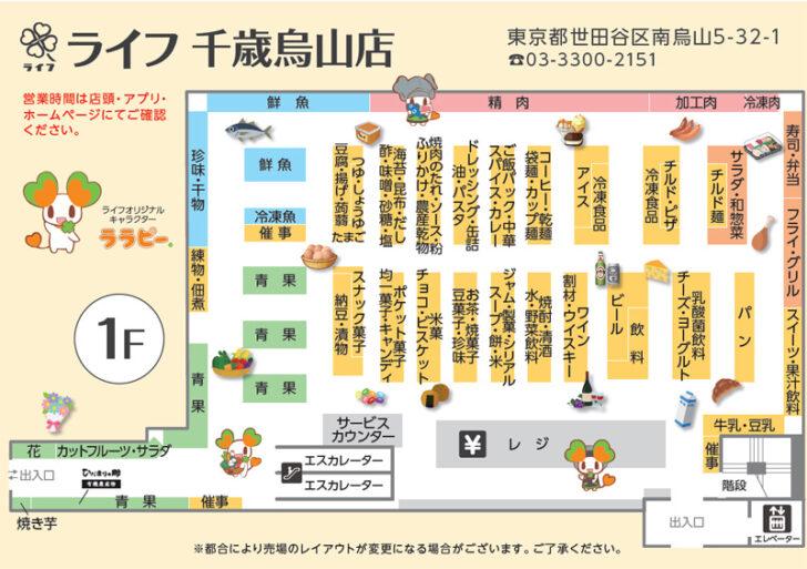 20210222life2 728x513 - ライフ/世田谷区「千歳烏山店」一新、ドラッグコーナー新設