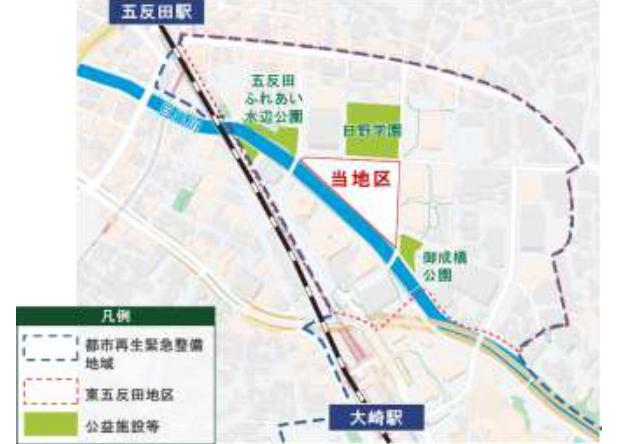 20210224toyku1 - 東急不動産/東京・五反田でオフィス・店舗・住宅の複合再開発