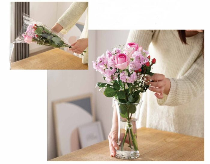 0304cainz1 e1614842839419 - カインズ/そのまま飾れてゴミが出ない切り花「Fulara」