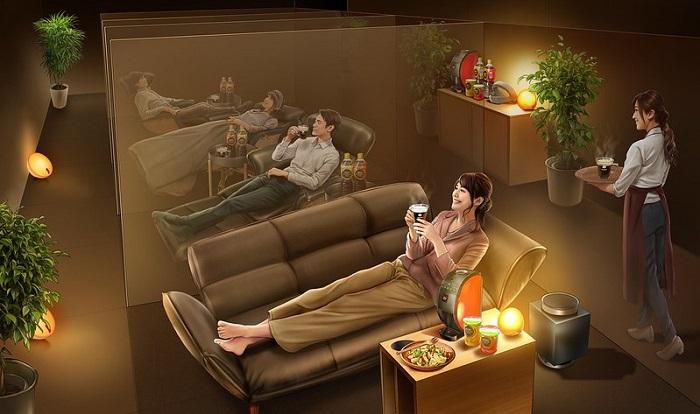 0308nestle1 - ネスレ/「ネスカフェ 睡眠カフェ」全面リニューアルで原宿に移転