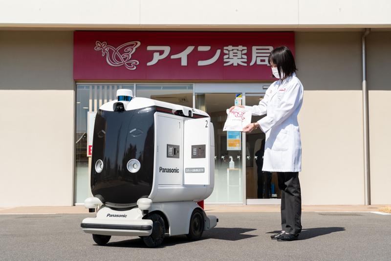 「医薬品配送」にロボット活用