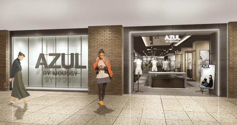 20210304azul1 - みなとみらい東急スクエア/「AZUL BY MOUSSY」首都圏最大規模の体験型店舗