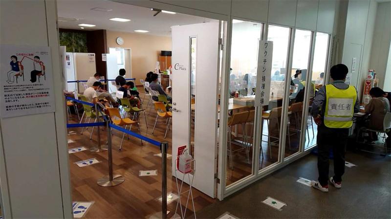 20211019heiwa - 平和堂/新型コロナワクチンの職域接種の終了